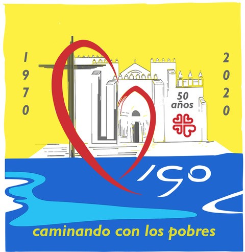No 50 aniversario de Cáritas Diocesana