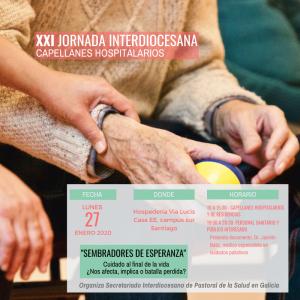 XXI Jornada Interdiocesana de Capellanes Hospitalarios