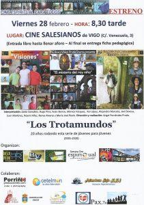 Estreno da serie xuvenil LOS TROTAMUNDOS (Cine Salesianos)