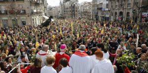 Celebracións da Semana Santa en cuarentena