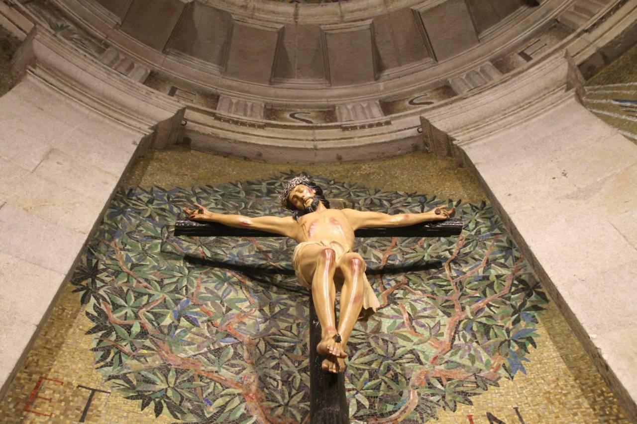 La Basílica, fuente de gracias del Cristo