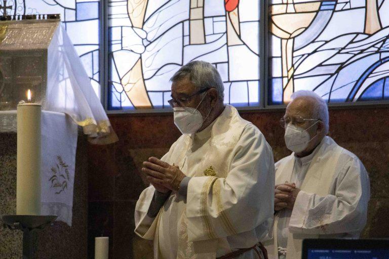 Alberto Cuevas, Delegado Diocesano para la celebración de los 50 años de la creación de algunas parroquias en la ciudad de Vigo.