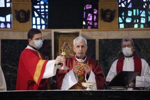 Luís Quinteiro, bispo de Tui-Vigo, convida a escoitar e a abrirse á realidade na festa de Santa Catarina.
