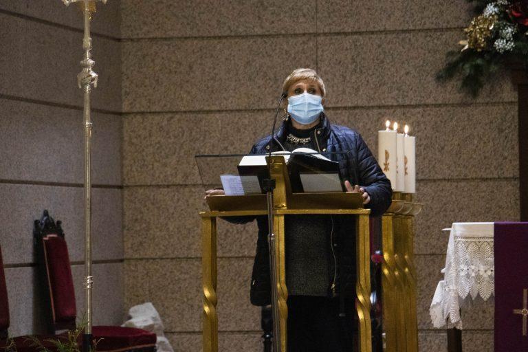 Ángela Extromodouro, presidente diocesana de Acción Católica.