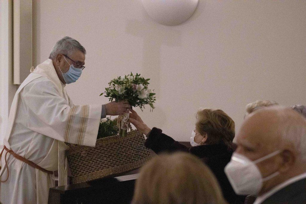 Misa de acción de gracias en Nuestra Señora de la Soledad con motivo de su 50 aniversario.