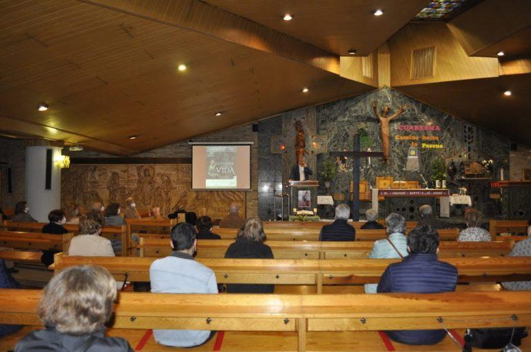 Xosé Manuel Domínguez imparte la charla «Atreverse a ser vulnerable», en el Corazón de María.