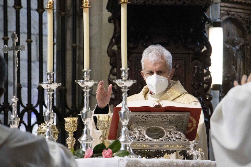 El obispo preside la eucaristía en la Catedral en honor a san Telmo.El obispo preside la eucaristía en la Catedral en honor a san Telmo.El obispo preside la eucaristía en la Catedral en honor a san Telmo.